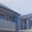 Aluminium louvres fabricated and powder coated by Brunton Engineering